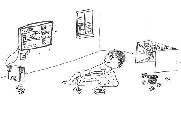 procrastination tv
